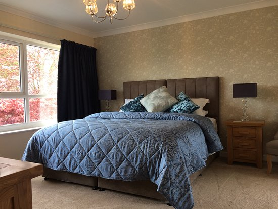 Little Budworth, UK: Room 1 at Porthkerry House Bed and Breakfast