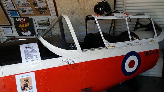 Sywell, UK: Chipmunk Cockpit