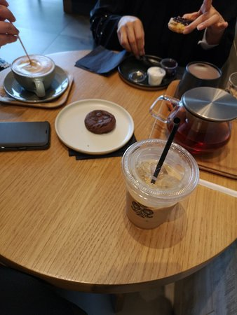 Good coffee, Relaxed atmosphere