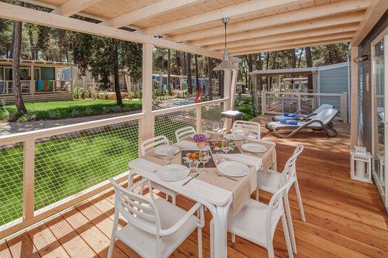 Balcony - Picture of Lanterna Premium Camping Resort, Porec - Tripadvisor