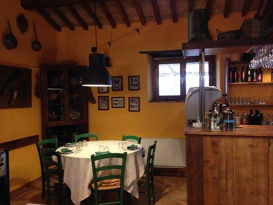 Castelnuovo di Farfa, إيطاليا: sala ristorante