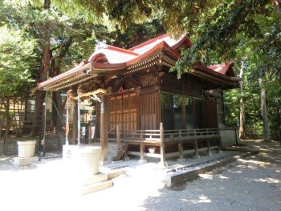 Nakano, Ιαπωνία: 社殿の様子