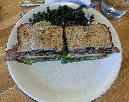 True Food Kitchen: TLT with grass-feed steak
