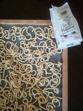 Petroussa, Hellas: Fresh handmade pasta