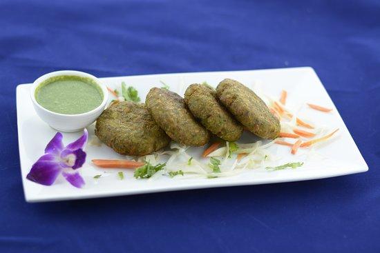 Dayton, Nueva Jersey: Harabara Kabab - Green leafs and vegetable patty