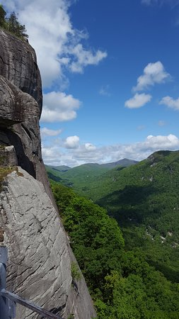 Chimney Rock, North Carolina: View around the top