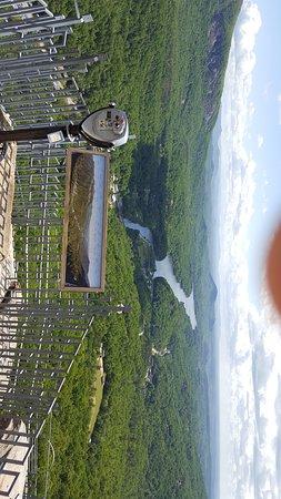 Chimney Rock, North Carolina: Long distance views