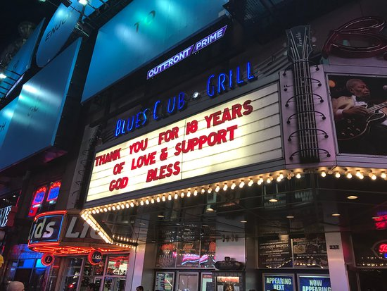 B.B. King Blues Club & Grill: Il B.B. King chiude: il ringraziamento al pubblico dopo 18 anni di attività