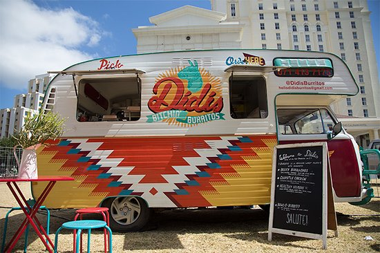 Claremont, South Africa: Humble Beginnings with our trusty Food Truck