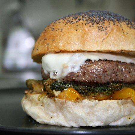 Vallo della Lucania, อิตาลี: hamburger