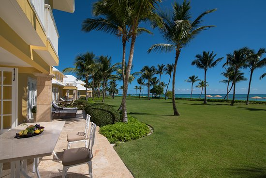 Tortuga Bay Hotel Puntacana Resort & Club: View from the villa, Tortuga Bay Puntacana Resort & Club.