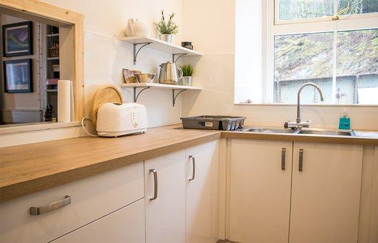 Stromeferry, UK: brand new kitchen in 2018