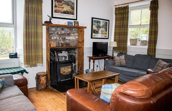 Stromeferry, UK: lounge area