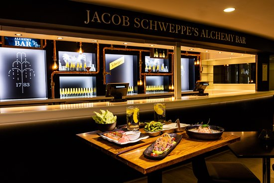 Schweppes Alchemy Bar