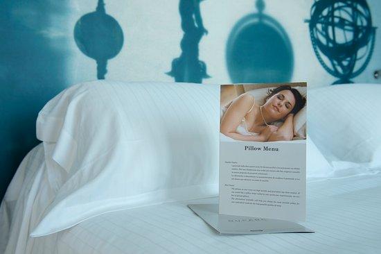 Menu Cuscini.Menu Cuscini Pillow Menu Picture Of Duparc Contemporary Suites