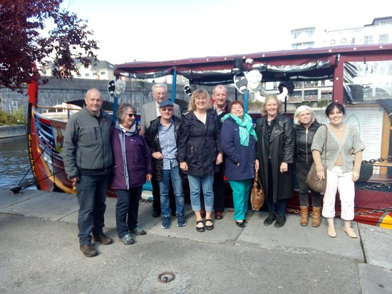 Athlone, Ireland: Mike and our group :)