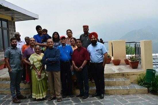 Naddi, อินเดีย: Our group with Mr. Ashwin Kumar
