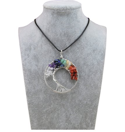 Every Day Is A Gift: Tree of life, hand made stones, 15 euros only