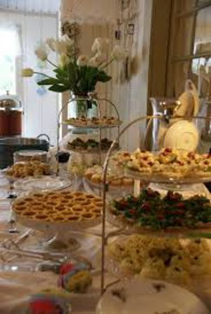 Bell Buckle, TN: Some of the teas we put together for bridal teas