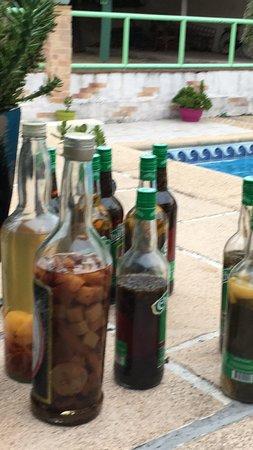 Boulazac, France : Les rhums arrangés du Chef (attention l'abus d'alcool est dangereux pour la santé)