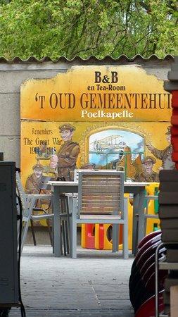 West-Flandern, Belgien: Doorsteek naar achtertuin - B&B Poelkapelle 't Oud Gemeentehuis 2018042527