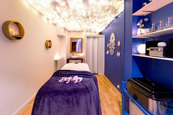 Bagneres-de-Bigorre, ฝรั่งเศส: la salle de massage bien-être