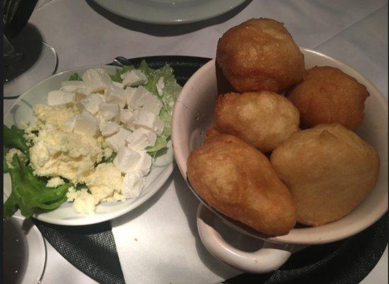Konoba Didov San - Gornji grad : panini fritti e formaggio