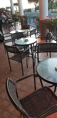 Lago Patria, Italien: Tavolini bistrot