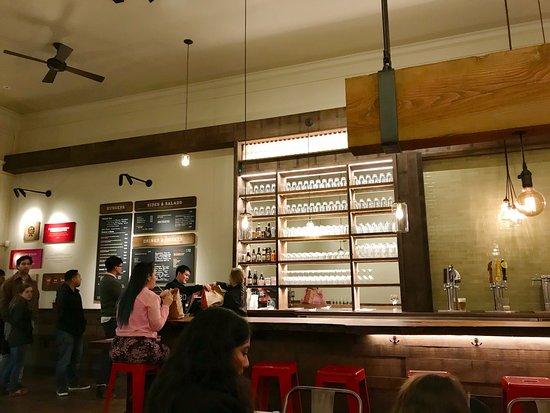 San Mateo, CA: Inside the eatery
