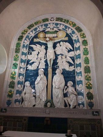 Chiusi della Verna, Italy: Crocifissione