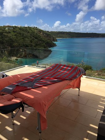 The Valley, Anguilla: Massage with view