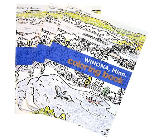 Winona Coloring Book Created With Three Winona Artists Featuring All