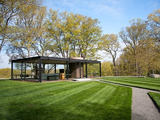 The Glass House, New Canaan, Connecticut