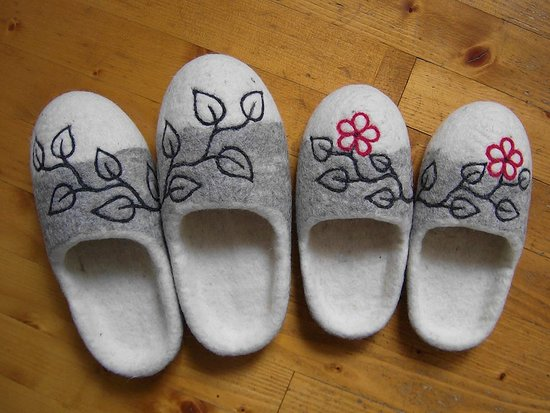 Solcava, Словения: Warm and cosy slippers