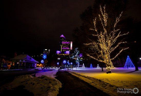 A Winter Wonderland In Queen Victoria Park Picture Of