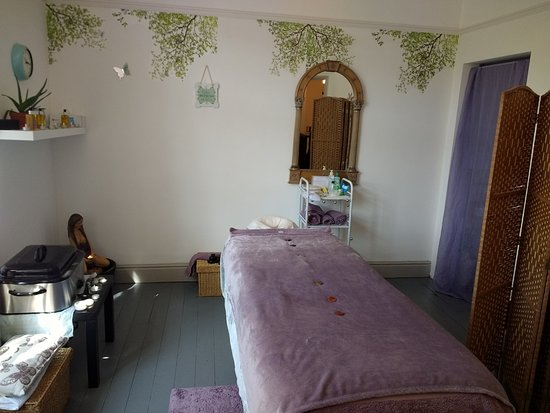 ‪‪Matlock‬, UK: Sunstone Massage Therapies room‬