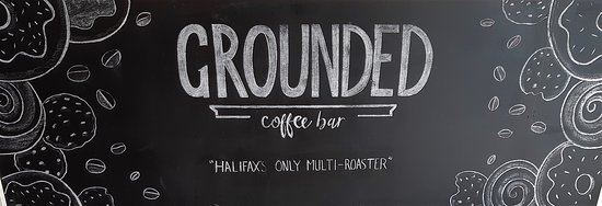 Halifax Region, Καναδάς: Chalkboard at front of the coffee bar