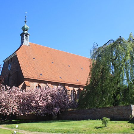 Preetz, Deutschland: Visited the convent on our hike of the E1. Surprisingly different from other convents in Germany