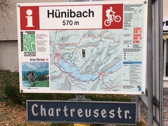 Hunibach, Switzerland: You are here!