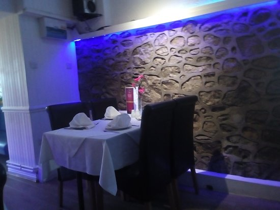 Llanymynech, UK: Cosy table for two