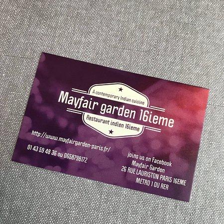 Mayfair Garden champs elysees Photo