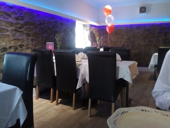 Llanymynech, UK: General view of the restaurant