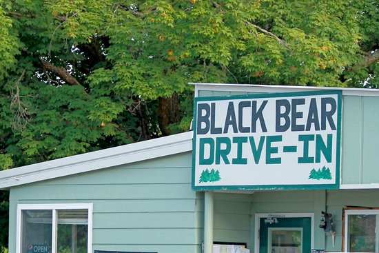 Northome, MN: Street view of the Black Bear!