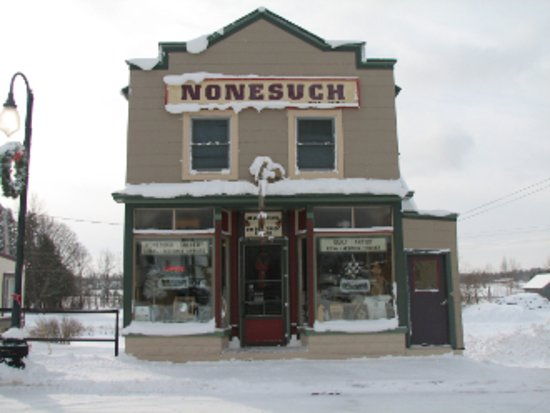 The Nonesuch Gallery is in downtown Ontonagon in an historic building. Open year round.