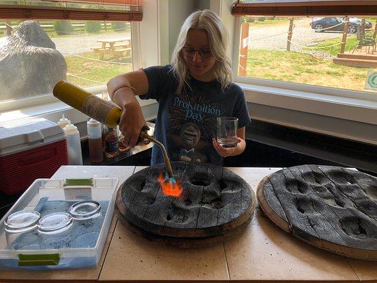 Silverback Distillery: Heating the Oak