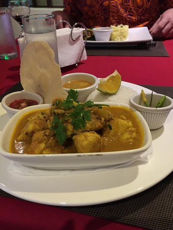 Bounty Restaurant & Bar: Fish curry