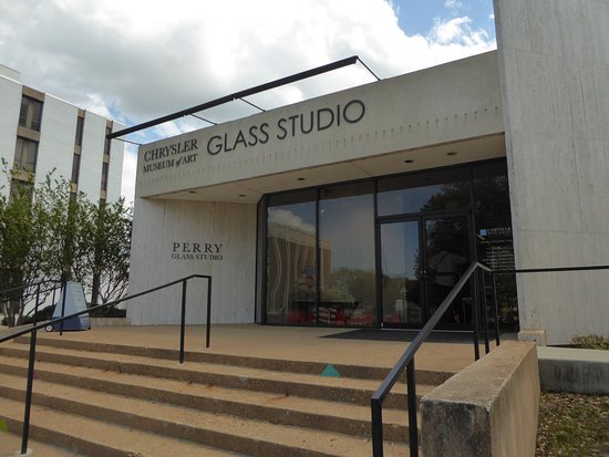 The Chrysler Museum Glass Studio