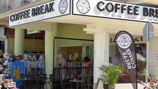 Street view of Coffee Break