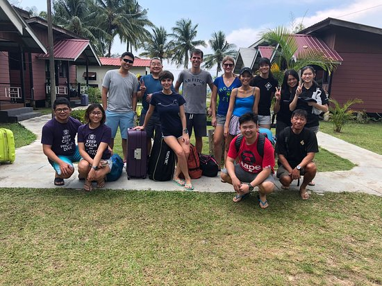 Juara, Malaysia: GS-Diving joined us for leisure!