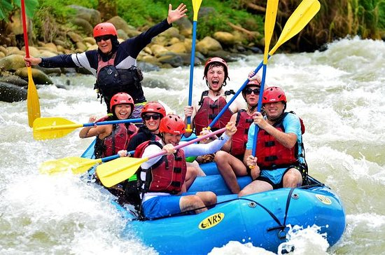 Whitewater Rafting en el río Savegre...